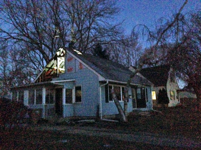Home damaged by early morning fire
