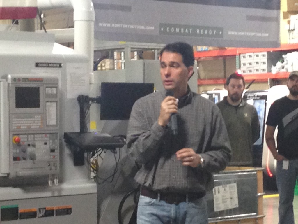 Walker says 'special interests' want him defeated
