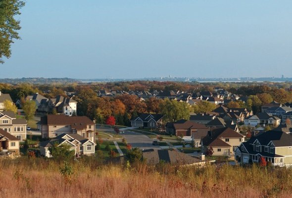 The real suburbs of Dane County