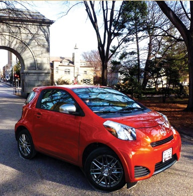 Hi, iQ! A Staycation in the new Toyota Scion Micro-Mini