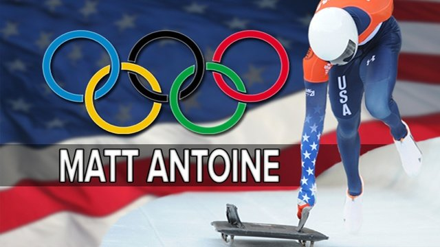 Matt Antoine completes first two Olympic runs