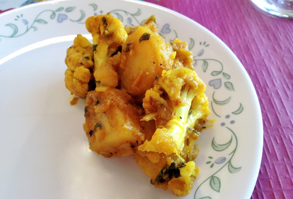 What's That Wednesday: Aloo Gobi from Minerva Indian Cuisine