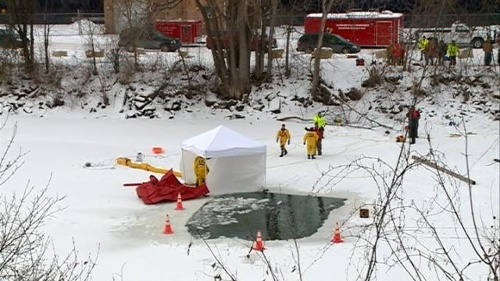 Body found as crews talked of suspending search