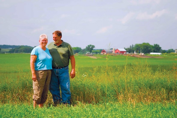 The Priskes Are Stewards of the Land at Fountain Prairie Farm