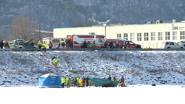 Rescue crews deal with tragedy