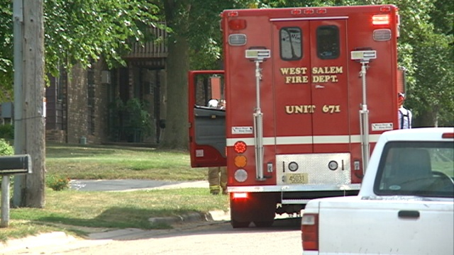 Electrical issue causes fire at West Salem house