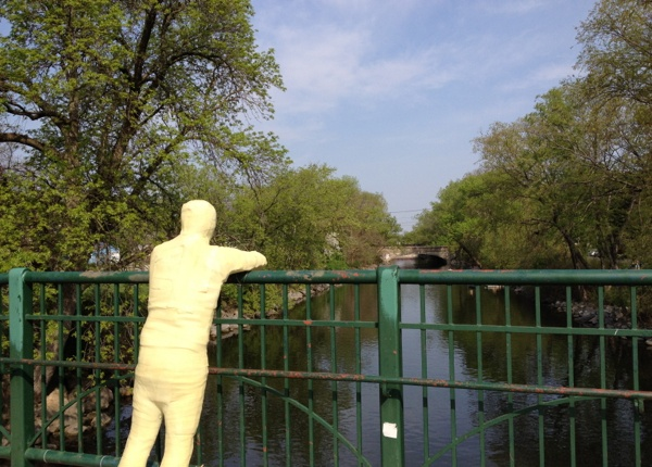 Outdoor Art Offers Reflections on the Yahara River