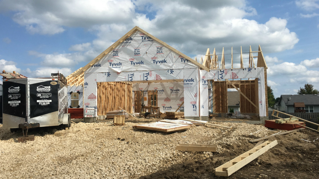 Sun Prairie students helped build Habitat for Humanity home
