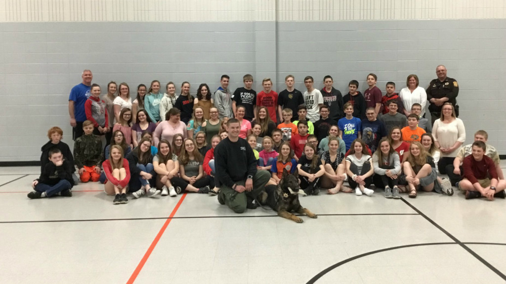 Students host kickball tournament to raise funds for K-9 Riko's surgery