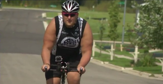 Madison man celebrates four years as Ironman triathlete