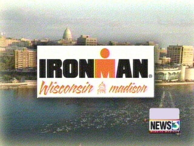 Senate Democratic leader competing in Ironman