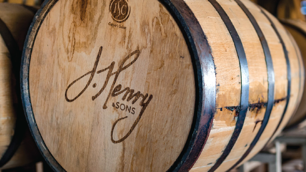 J. Henry & Sons barrels award-winning bourbon whiskey