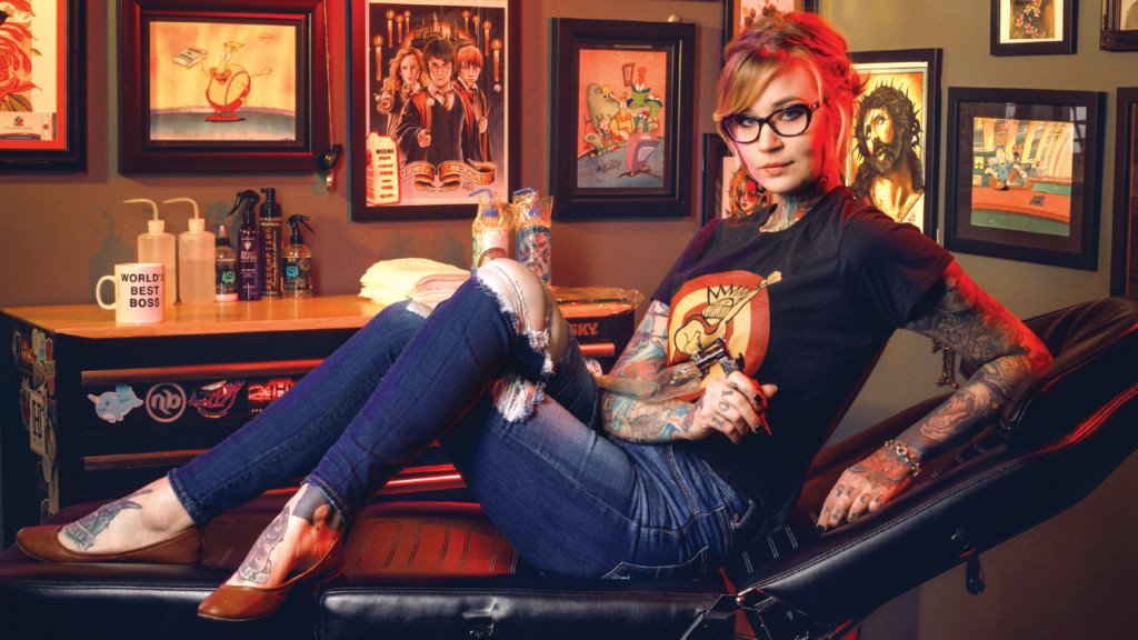 Meet ace inker (and 'Ink Master' contestant) Janelle Hanson of Iron Quill Tattoo