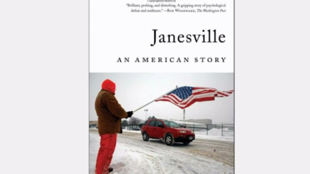 Book about GM's closure in Janesville wins best business book award