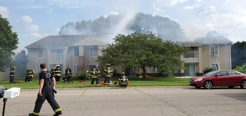 Janesville apartment building that caught fire sustains $405,000 in damages