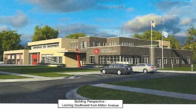 Janesville unveils new plans for fire station