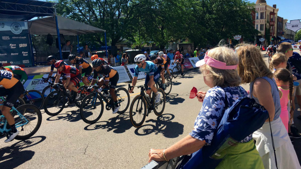 Janesville Gran Prix resumes after severe weather passes through area