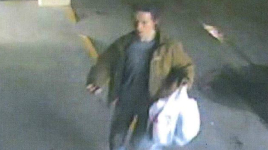 Police hope to ID man who stole BMW from hospital parking ramp