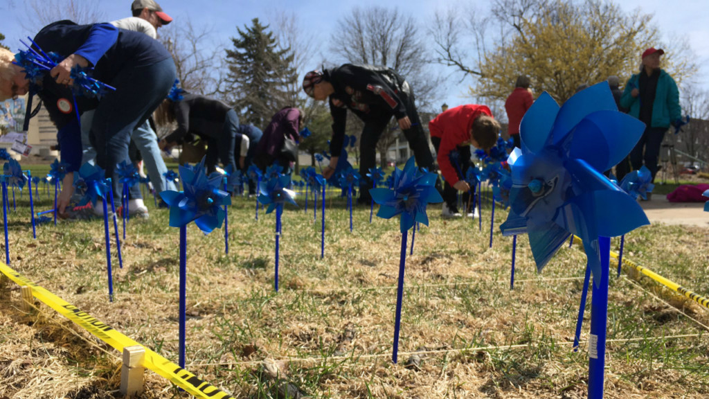 'Pinwheels for Prevention' highlights local effects of child abuse