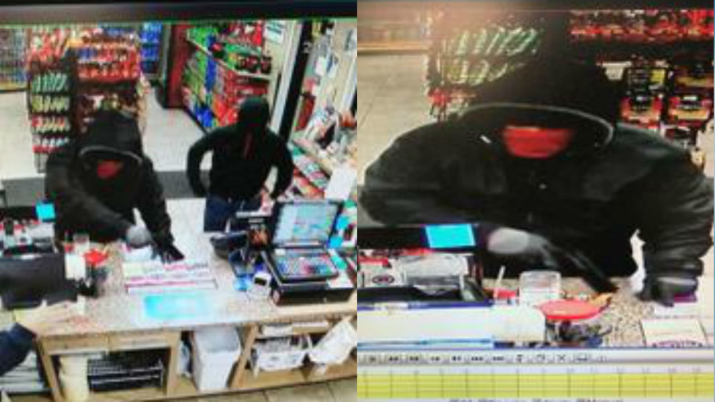 Janesville police search for 2 men in armed auto shop robbery