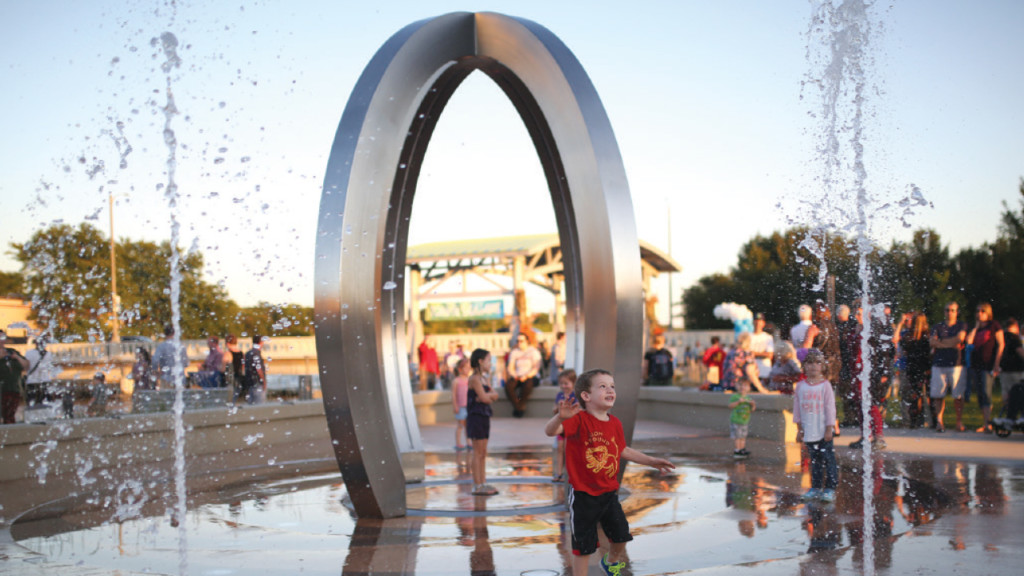 Other area cities add to constellation of public art