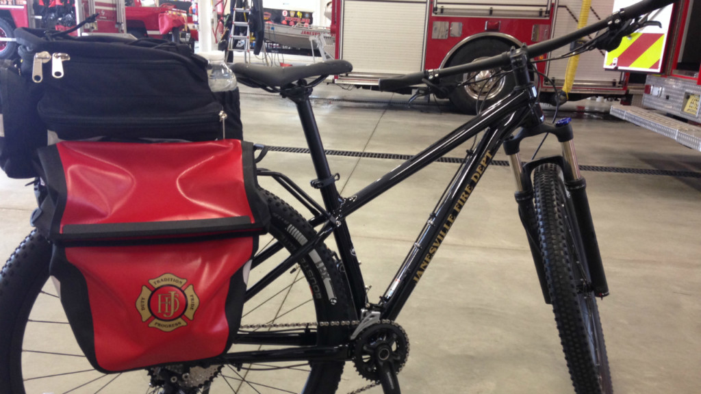 Janesville Fire Department rolls out new lifesaving bikes