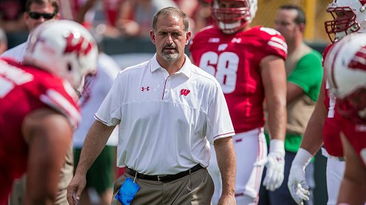 Badgers build the offensive line through experience