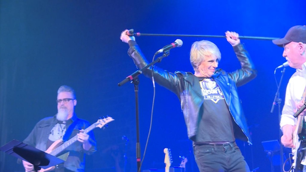 Rock 'n' roll concert raises about $80,000 for epilepsy research, respite care