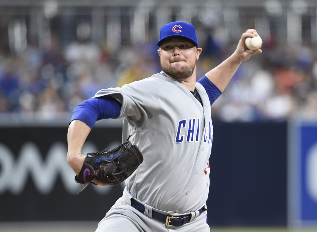 Cubs to start Lester in NLCS Game 1