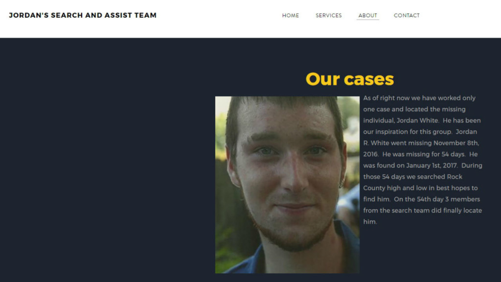 Friends of Janesville man who was missing start search group for other families in need
