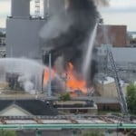 'I'd never seen any fire like that before': Witnesses react to fire at MG&E substation