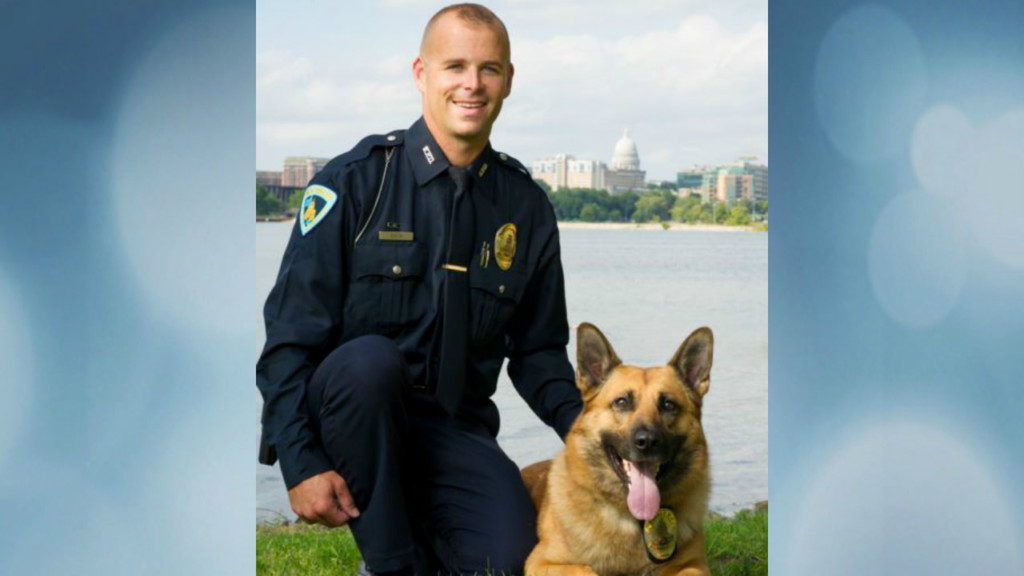 K-9 tracks man who fled from hospital to nearby shed, police say
