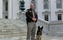 Retired K-9 Hunter passes away after brief illness