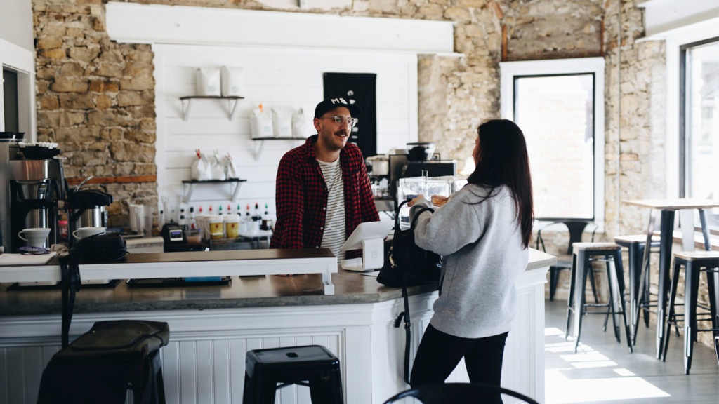 New Cambridge shop serves coffee with kindness