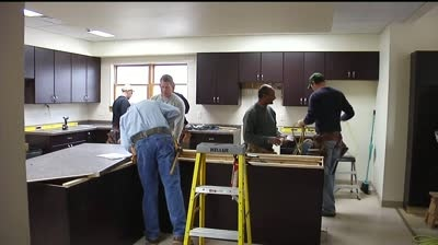 Battered women's shelter getting facelift