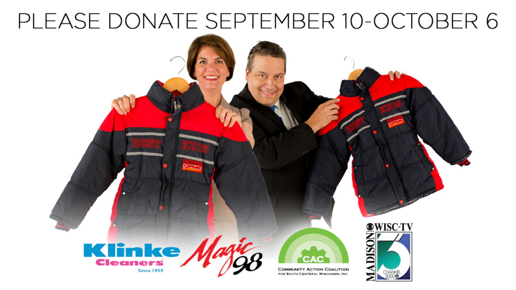 News 3, Klinke Cleaners to collect Koats for Kids
