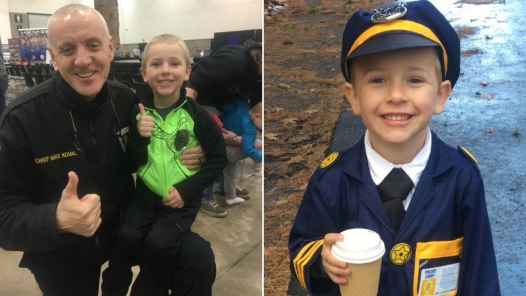 'All befitting honors': MPD gives 5-year-old boy honorary officer funeral after 'freak' crash
