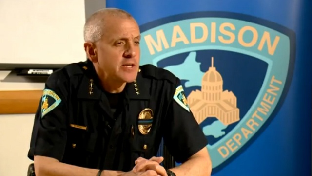 Madison police chief reacts to Ferguson