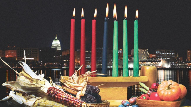Madison and the Kwanzaa tradition