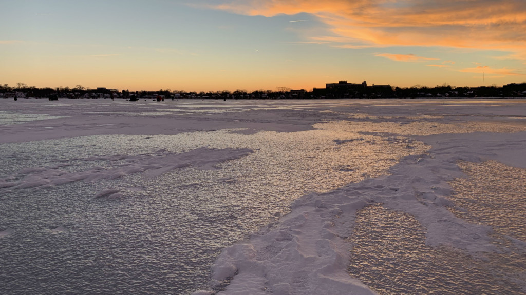 Unusual winter rain runoff is problematic for lakes