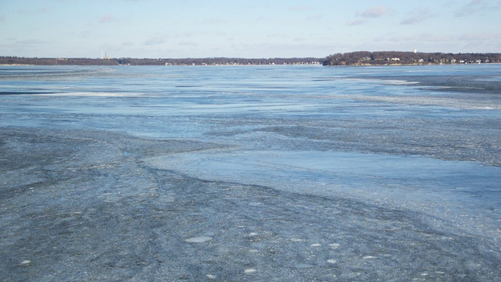 Frozen Lake Mendota