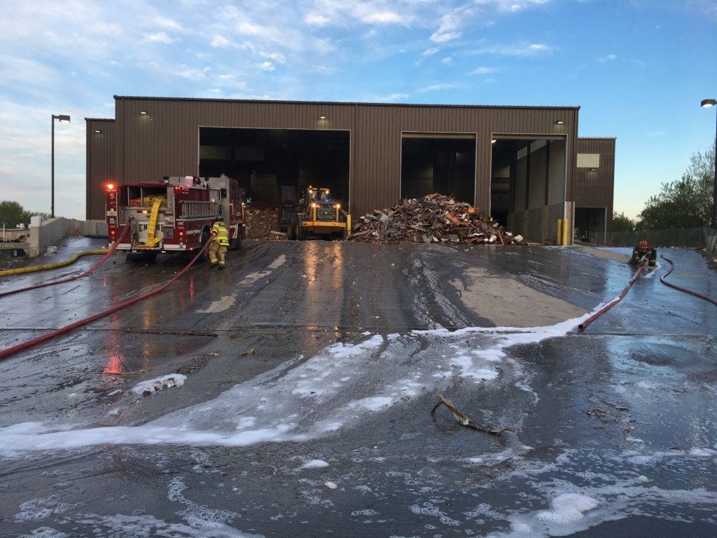 Cause of landfill fire deemed accidental
