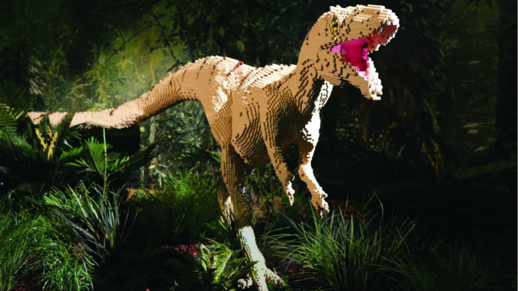 Life-sized Lego dinos to appear at Milwaukee Zoo