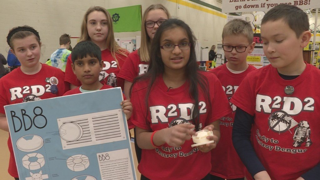 Lego robotics championship encourages students to solve real-world problems
