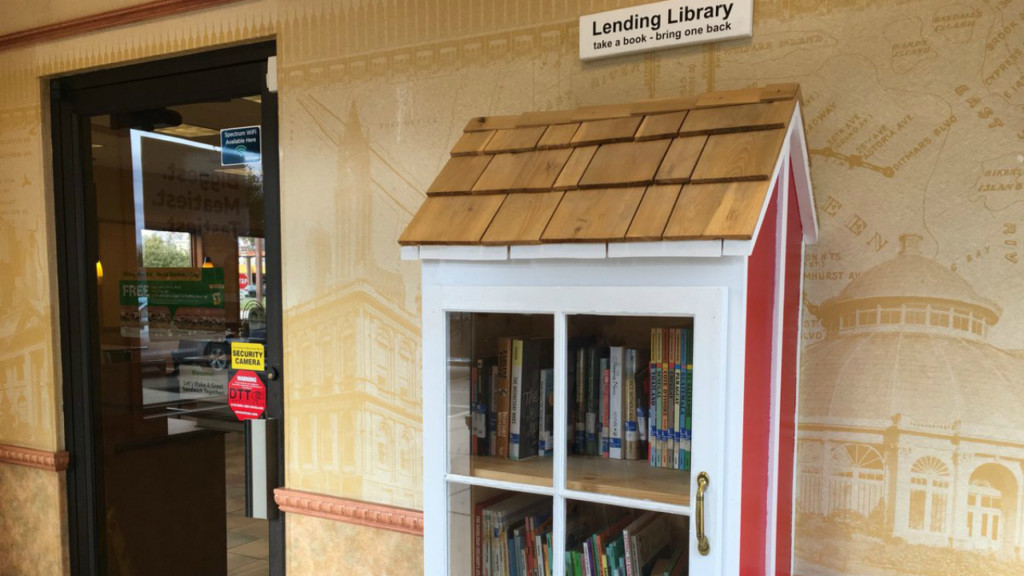 New Lending Library feeds bodies and minds