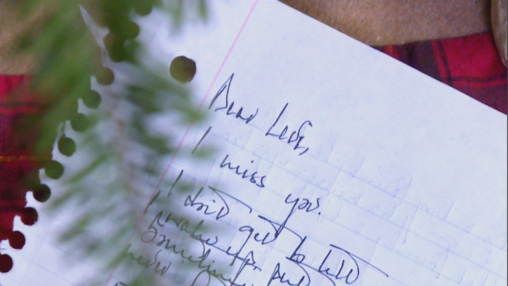 Letter to Levi: Navigating grief this holiday season