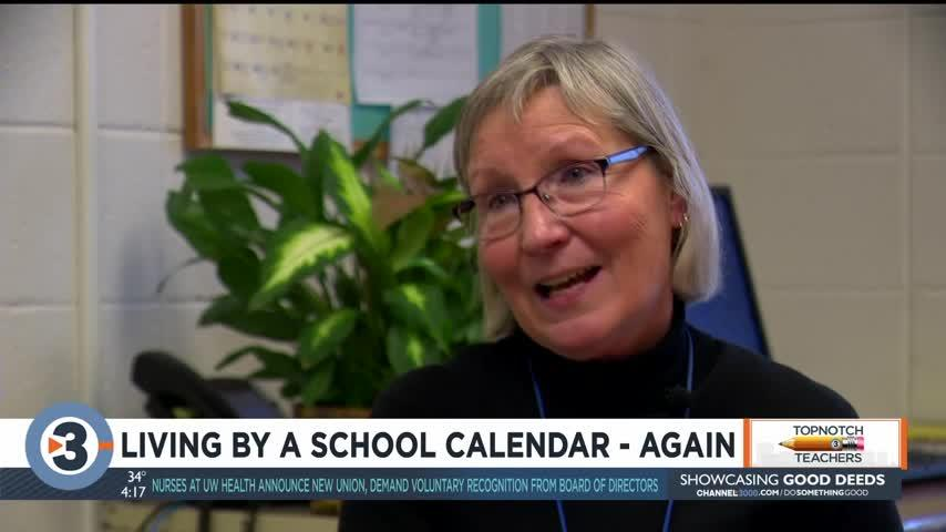 Living by a school calendar – again