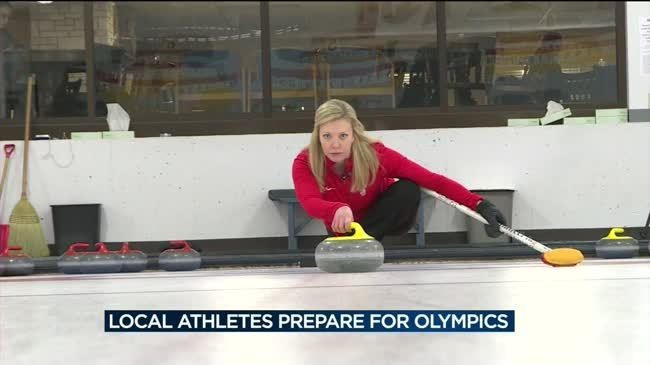 Local athletes prepare for Winter Olympics