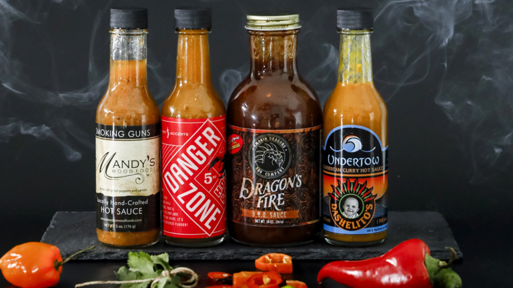 Can you handle these local hot sauces?