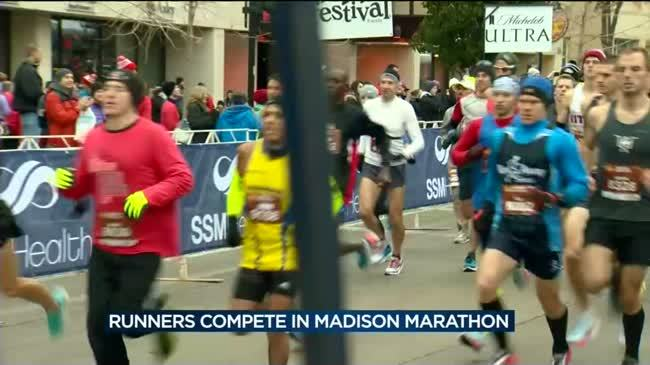 Local runners tackle challenges, compete in Madison Marathon